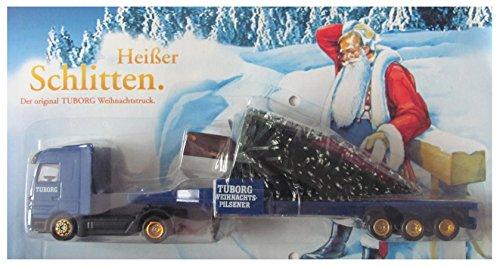 Tuborg Nr.13 - Heißer Schlitten - MB Actros - Sattelzug mit Baum