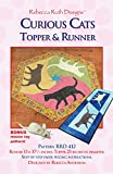 Curious Cats Topper & Runner Sewing Pattern