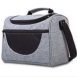 FTYU Kühlrucksack Kühltasche faltbar Schultergurt Kühlbox Isoliertasche Thermotasche Picknicktasche für Lebensmitteltransport Lunchtasche Isoliert Aufbewahrung von Wärme und Kälte