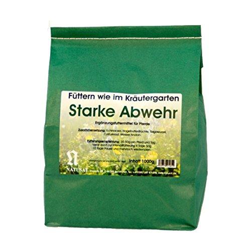Natusat Kräutermischung Starke Abwehr 1000 g - mit Echinacea, Hagebuttenfrüchte