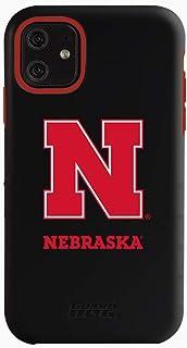 Guard Dog Collegiate Hybrid Case for iPhone 11 – Nebraska Cornhuskers – Black