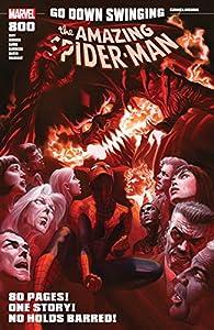 Amazing Spider-Man (2015-2018) 800巻 表紙画像