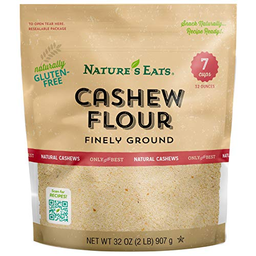 Nature's Eats Cashew Flour Finely Ground, 32 Ounce