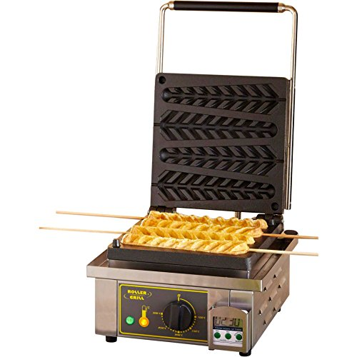 Best Deals! Equipex (GES23) - 110 Waffle/Hr Single Cypress Waffle Baker
