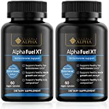 Testosterone Booster Alpha Fuel XT Naturally Increases Strength, Stamina and Endurance Promotes Lean Muscle Growth and Fat Burning 2 Bottles