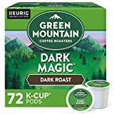 Green Mountain Coffee Roasters Dark Magic, Single-Serve Keurig K-Cup Pods, Dark Roast Coffee, 72 Count