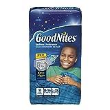Kimberly-Clark 41315 Goodnites Youth Pant, Boy, Large/X-Large, Jumbo (Pack of 44)