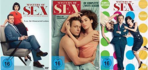 Masters of Sex - Season/Staffel 1+2+3 im Set - Deutsche Originalware [12 DVDs]