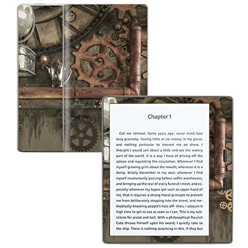 "MightySkins Skin Compatible with Amazon Kindle Oasis 7"" (9th Gen) - Steam Punk Room 