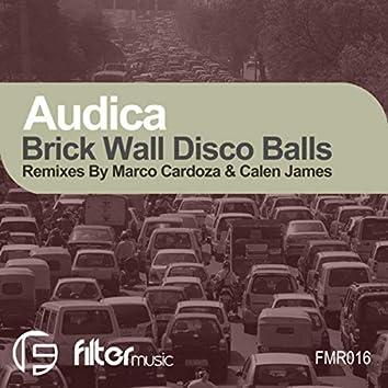 Brick Wall Disco Balls