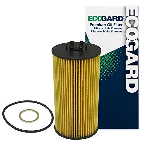 ECOGARD X5579 Premium Cartridge Engine Oil Filter for Conventional Oil Fits Audi S4 4.2L 2004-2009, A8 Quattro 4.2L 2004-2006, A6 Quattro 4.2L 2005-2006