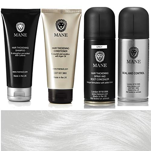 Mane Hair Thickener 100 ml Travel Pack (Grey/Gris)