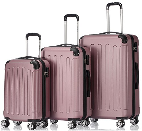 BEIBYE , Set di valigie , rosa (rosa) - LG2033