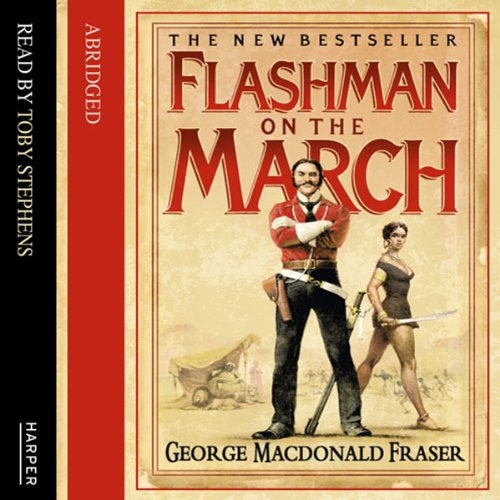 Couverture de Flashman on the March