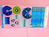 ポケパークペーパークラフト ポケモンセンター Poke Park 2005全種 6種セットピカチュウ レックウザ ピチュー兄弟