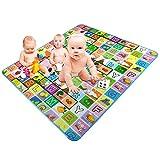 Kinder Mat Krabbeldecke - Spiel Matten Teppich Teppiche Spielmatte für Kleinkinder -
