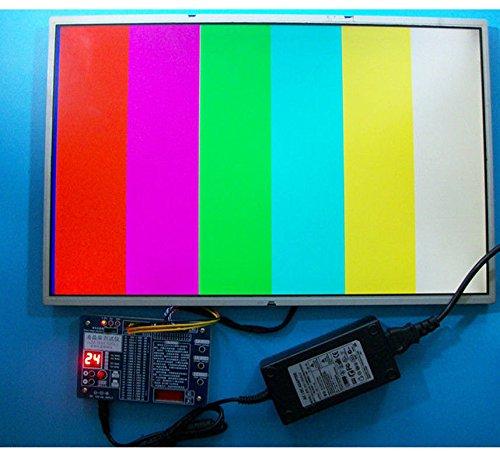 Comprobador de panel, LED pantalla LCD probador herramienta para TV ordenador portátil reparación con 55 programas apoyo 7 – 84