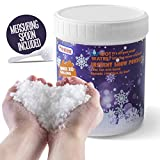 Instant Snow Powder - Makes 10 Gallons of Artificial Snow - Perfect for Christmas Tree Decoration, Village Displays, Holiday and Winter Crafts and Fake Snow Play and Great for Cloud Slime