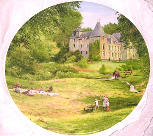 D' todo el césped Arceau Limoges Dejeuner sur la Paysages de France Michel Julien plato CP1816