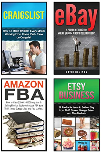 Amazon Com Make Money Online 4 In 1 Master Class Box Set Book 1 Selling On Ebay Book 2 Amazon Fba Book 3 Etsy Business Book 4 Craigslist Ebay Amazon