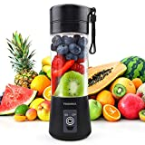 TENSWALL Mini Portable Blender, 380ml Personal Blender Smoothie Maker Fruit Mixing Machine