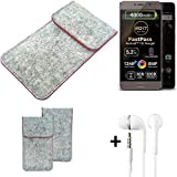 K-S-Trade® Protective Felt Case For Allview P9 Energy Lite