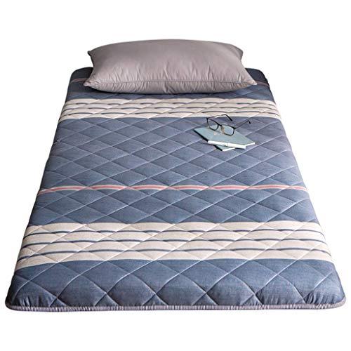 Yangdan, materasso imbottito per studenti, per letto singolo, con pinzette, imbottitura per dormire (colore: A5, dimensioni: 150 x 200 cm)