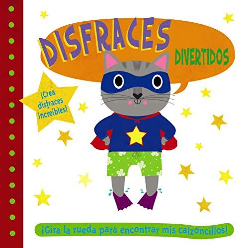 Disfraces divertidos (Castellano - A PARTIR DE 0 AÑOS - PROYECTO DE 0 A 3 AÑOS - Libros manipulativos)