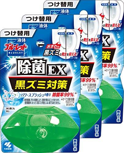 【まとめ買い】液体ブルーレットおくだけ除菌EX トイレタンク芳香洗浄剤 詰め替え用 パワースプラッシュ 70ml×3個