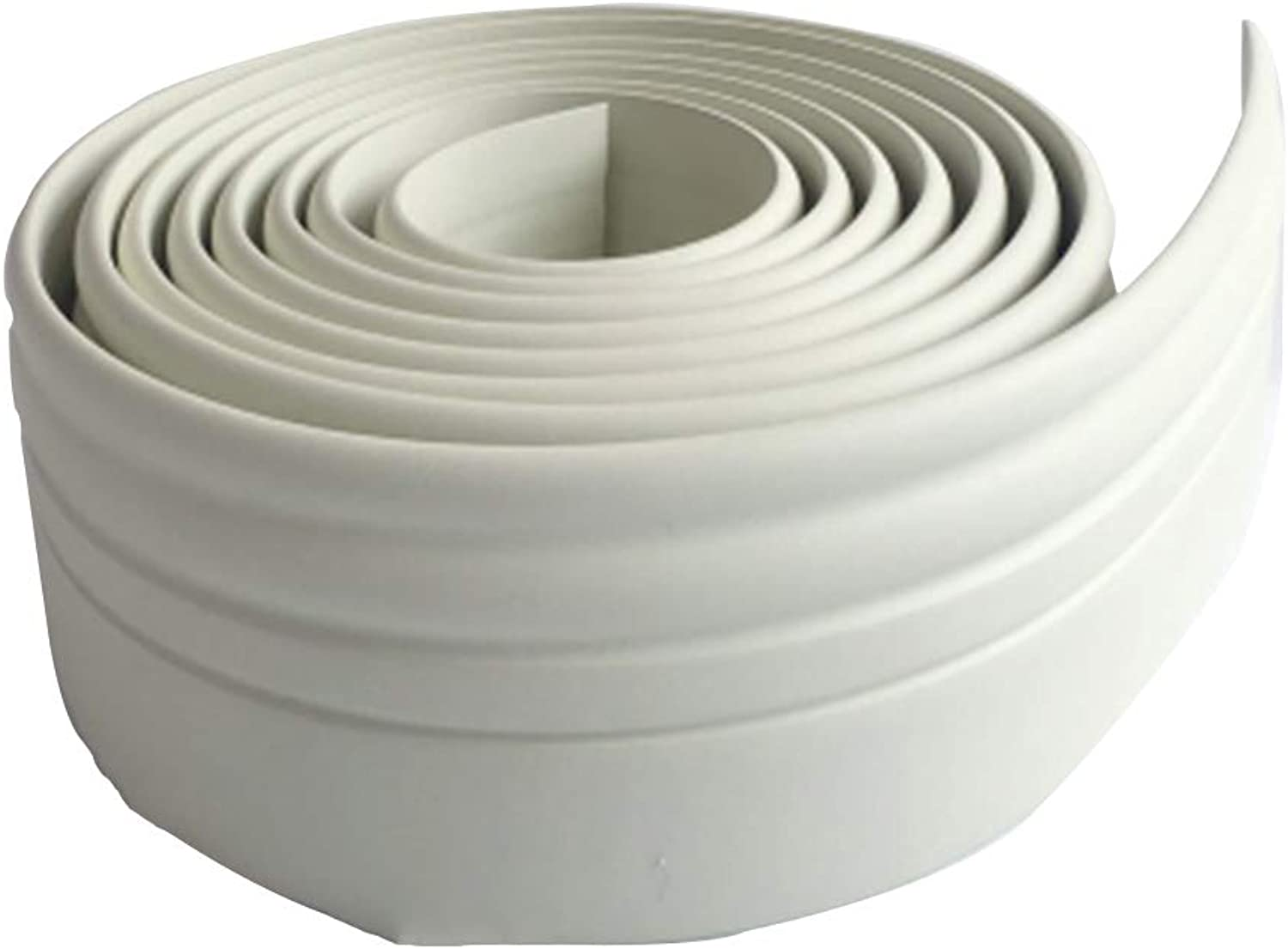 Rubber Seal Foam Tape Foam Seal Strip, SelfAdhesive Wall Sticker, European Style Soft 2 M Thick Decorative Strips, Thickness 1Cm,White,200  10  1Cm