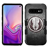 for Galaxy S10, Hard+Rubber Dual Layer Hybrid Shockproof Rugged Impact Cover Case - Star Wars Jedi #ZS