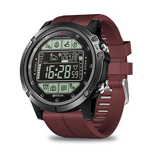 yankai Smartwatch Reloj Inteligente Reloj Inteligente Bluetooth,Reloj Deportivo,Sincronización Meteorológica,Modo Ejercicio,Prueba Calorías,Recuento Pasos,Despertador