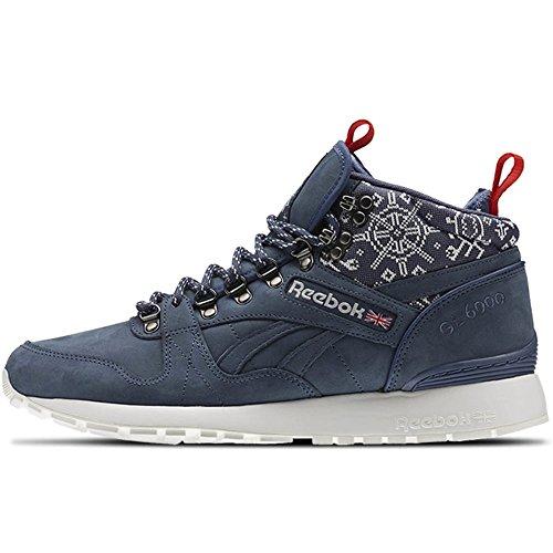 Reebok GL 6000 Mid SG - Zapatillas para hombre, color azul, talla 12