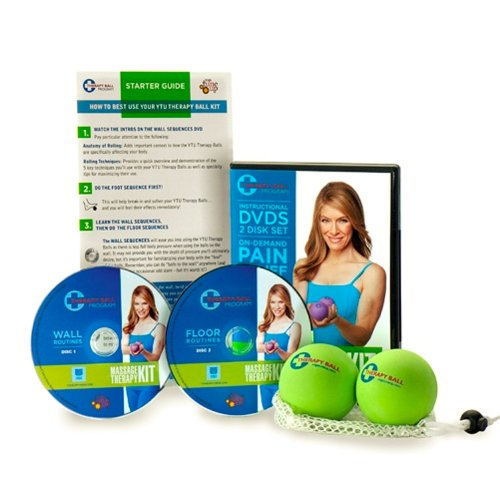 Jill Miller Yoga Tune Up Massage Therapy Full Body Kit - Therapy Balls...