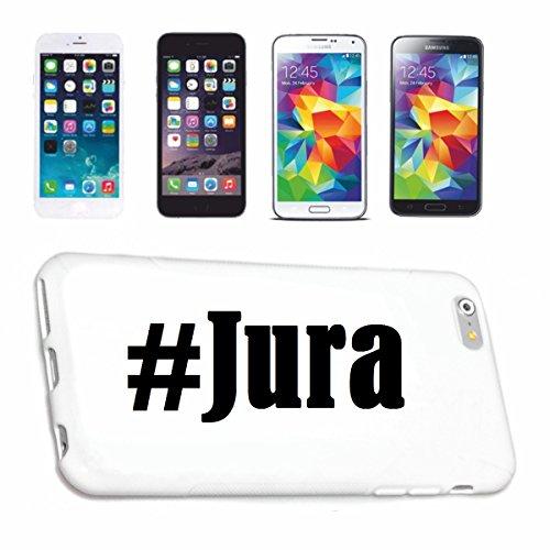 Reifen-Markt Handyhülle kompatibel für iPhone 7S Hashtag #Jura im Social Network Design Hardcase Schutzhülle Handy Cover Smart Cover
