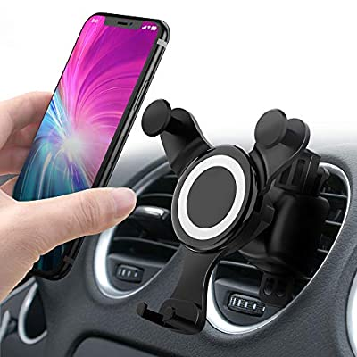 Amazon - Save 15%: Updated Cell Phone Holder for Car, Universal Smartphone Car Air Vent…
