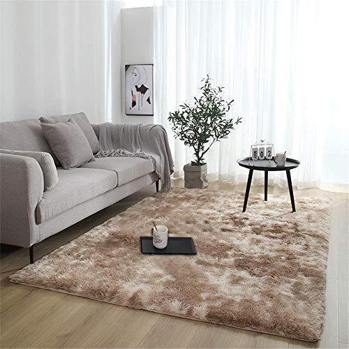 Rugs Fluffy tapijt, antislip, dik deken van Zona voor woonkamerdecoratie, rechthoekig, 80 x 160 cm
