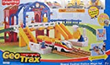 GEOTRAX Geo Trax Remote Control Grand Central Station 'MEGA' Train Set w Sounds, The Fastest Team & Confused Team (Total 4 Figures) & More! (2007)