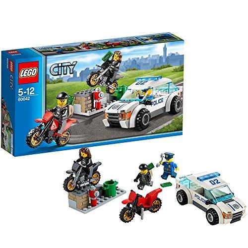 lego city inseguimento LEGO City Police 60042 - Inseguimento ad Alta velocità