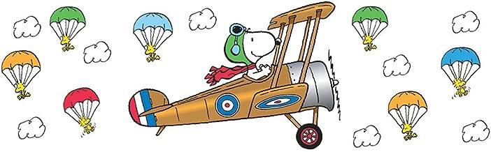 Eureka Classroom Supplies Flying Ace Snoopy Theme Bulletin Board Sets, 40 pcs