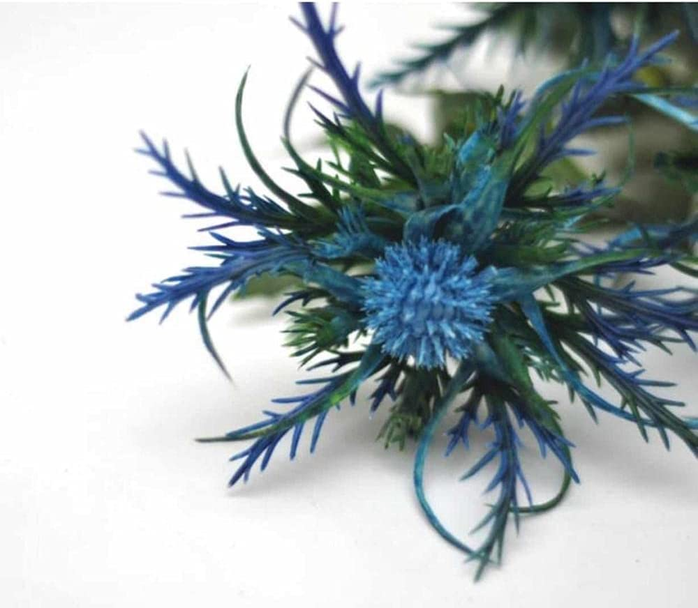 Artificial and Dried Time 2021 spring and summer new sale Flower W Eryngiums Blue Eryngium