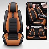 JYPZSH Fundas Asientos Coche para BMW Serie 3 E90 F30 G20 Compacto E36 Convertible E93 3 Coupe E46 E92 Touring E91 F31 Accesorios De Coche-Color 1