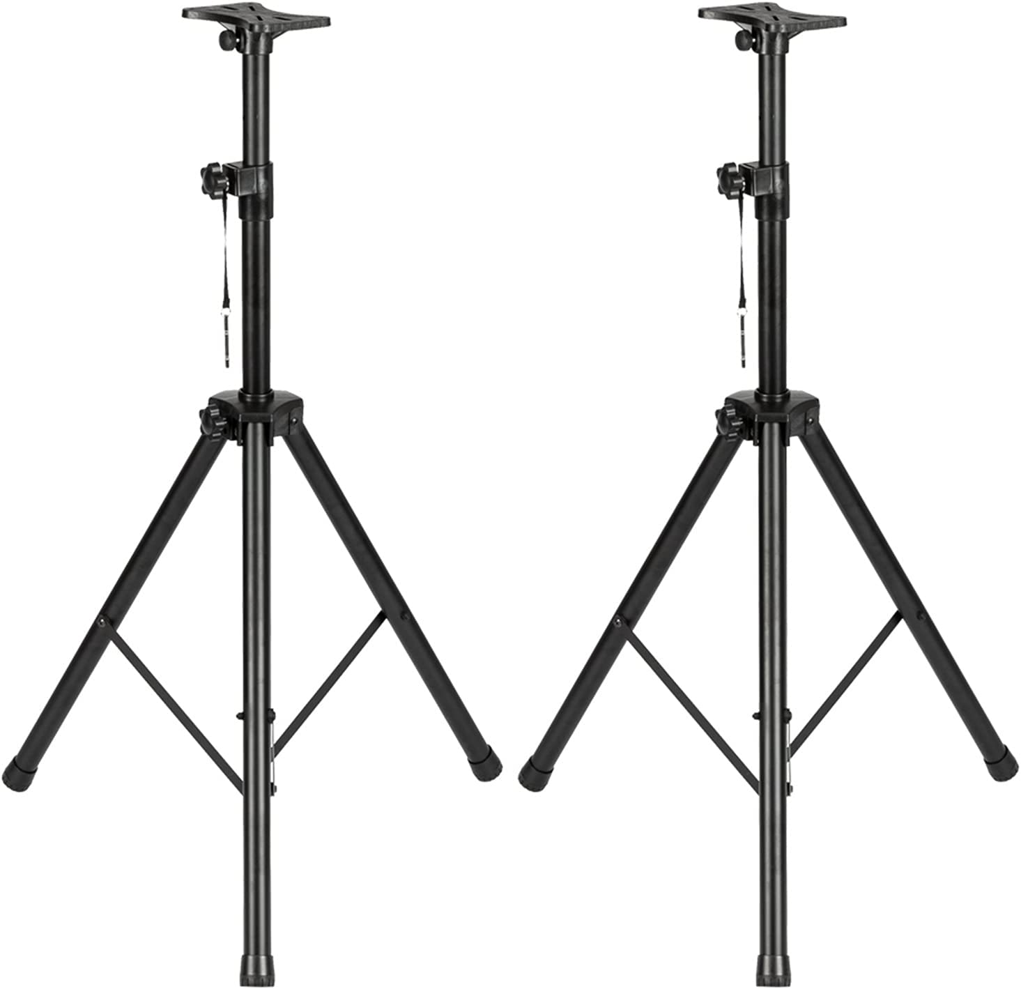 kannore ZHEYANG 2pcs Adjustable Tripod Stands Speaker PA DJ wholesale with Ranking TOP13
