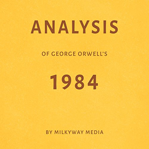 Analysis of George Orwell's 1984 Titelbild