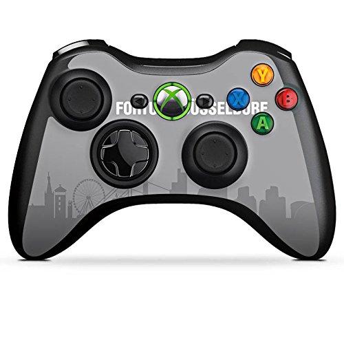 DeinDesign Microsoft Xbox 360 Controller Folie Skin Sticker aus Vinyl-Folie Aufkleber Fussball Fanartikel Sport