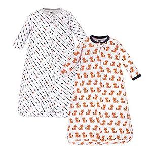 Hudson baby Safe Sleep Wearable Long-Sleeve Sleeping Bag – Manta vestible Mujer