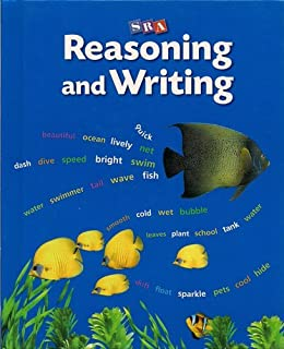 SRA Reasoning and Writing Level C Textbook