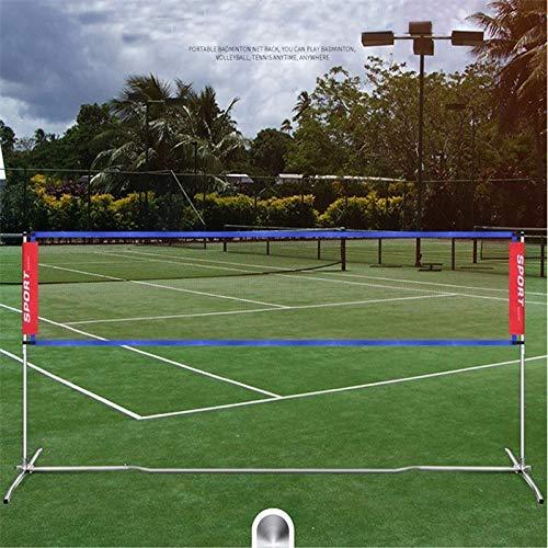 DXY 4,1 * 0,76 m tragbares Standard-Badmintonnetz Professionelles Badminton-Trainingsquadrat Mesh-Tennis Badmintonquadrat-Federballnetz