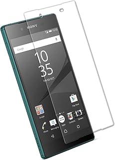 جلاس- واقي شاشة صلب مقاوم للكسر بحماية زجاجية لجوال سوني زد5 ( زد5 العادي ) Sony Xperia Z5