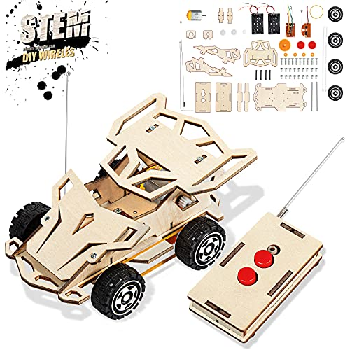 iValea Kids Toys for 6-10 Year Old Boys Gifts, STEM Projects for Kids Ages 8-12, DIY Wooden Wireless...